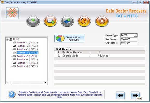 Windows Files Recovery screen shot